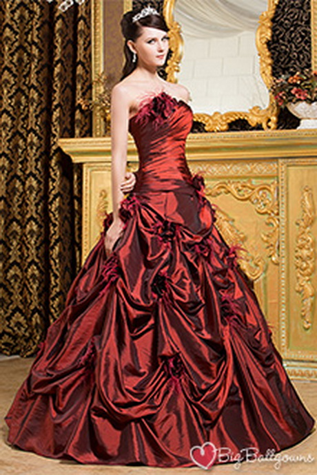 Victorian masquerade ball gowns
