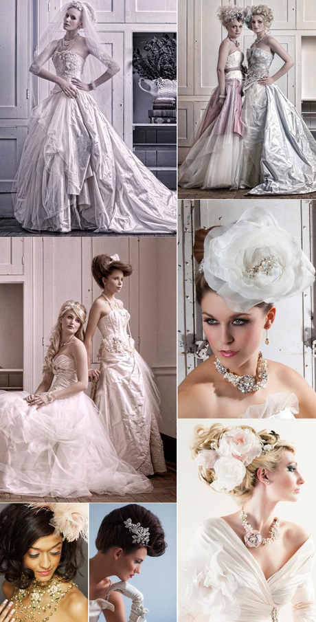 Vintage couture wedding dresses - photo #31