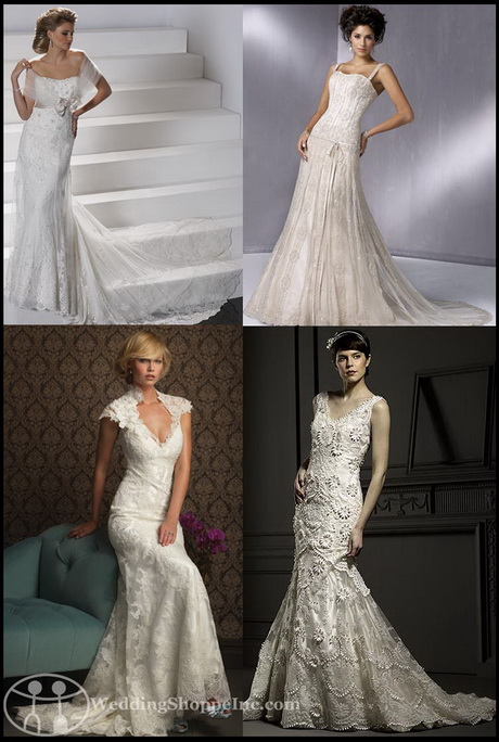 Vintage inspired bridal gowns for Antique inspired wedding dresses