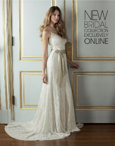 Vintage Wedding Dresses Five Dock : Lace vintage inspired wedding dresses
