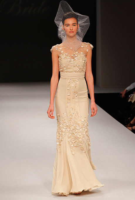 Blush Badgley Mischka Bridal Gown Desdemonia