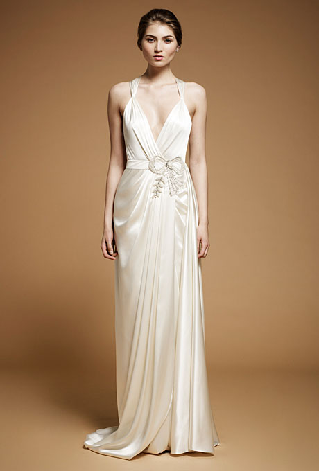 1920s inspired Jenny Packham Ada Wedding Dress