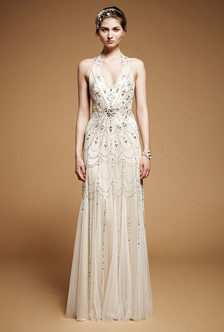 Jenny Packham 2013 Halterneck Wedding Dress