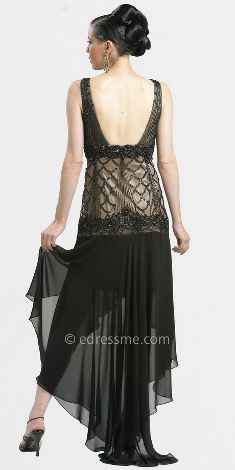 Vintage Style Evening Gown 19