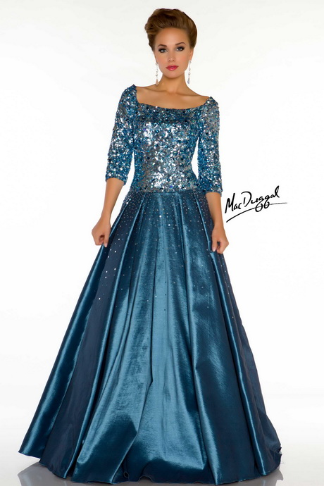 Vintage Style Evening Gown 82