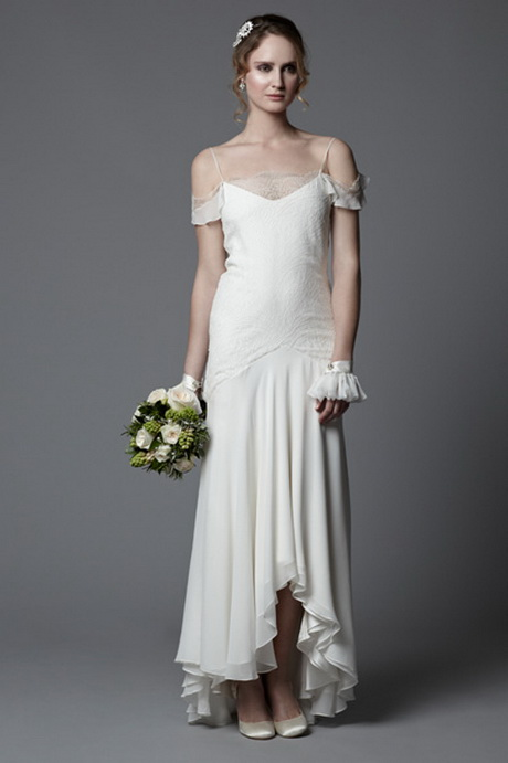 Vintage wedding dress 1920s for Wedding dresses in the 1920s