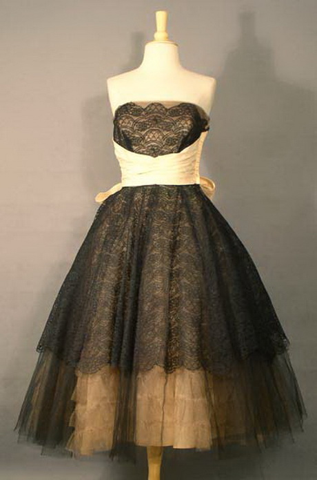 lace vintage prom dresses - photo #13