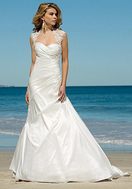 Wedding Dresses For A Beach Ceremony : Beach wedding dresses gowns for ceremony best