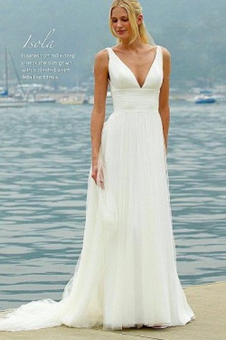 Wedding Dresses For A Beach Ceremony : Beach wedding dresses off big