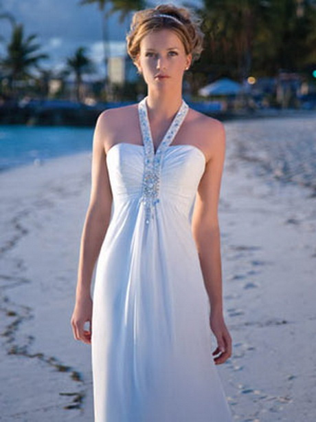 Wedding Dresses For A Beach Ceremony : Your footwear should blend with beach wedding gown you