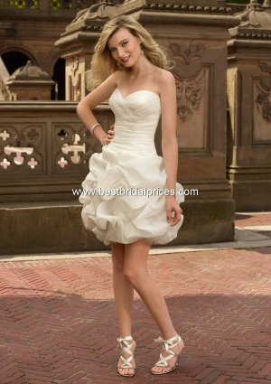 mori lee discount wedding dress
