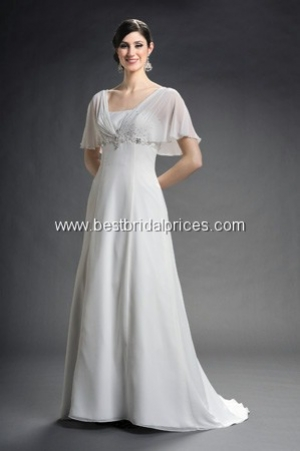 romantic bridals discount wedding dress
