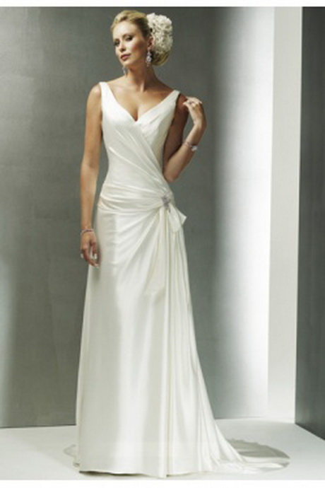 27 original dresses for older women for Mature women wedding dress
