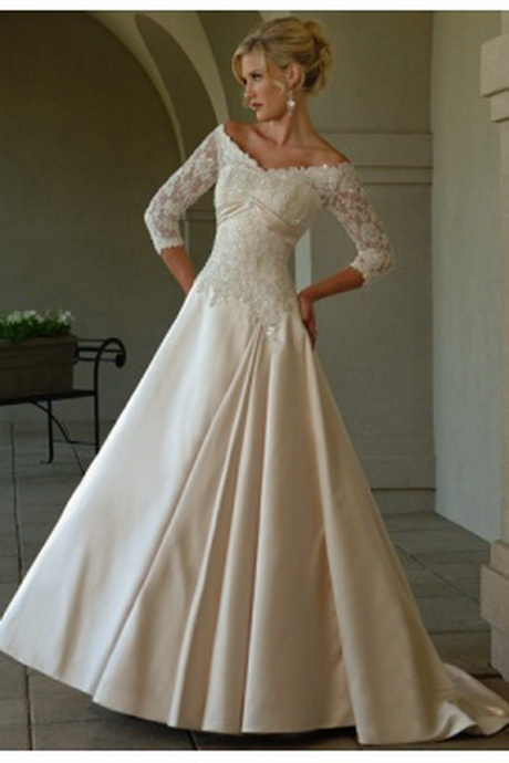 Discount Mature Wedding Gowns
