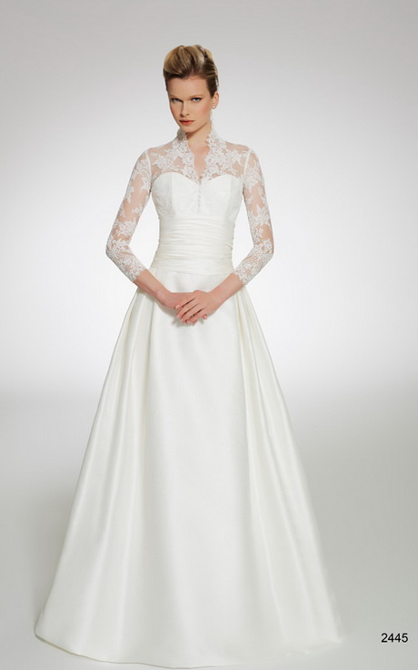 Wedding gowns for older women for Older brides wedding dresses