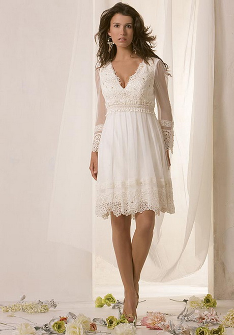 Wedding dresses casual wedding dresses for older women