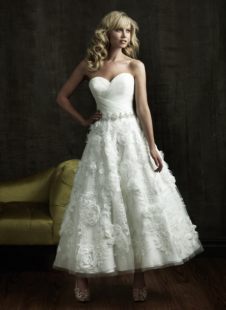 Wedding gowns for petite brides for Petite wedding dress designers