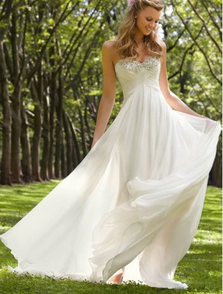 Wedding gowns simple