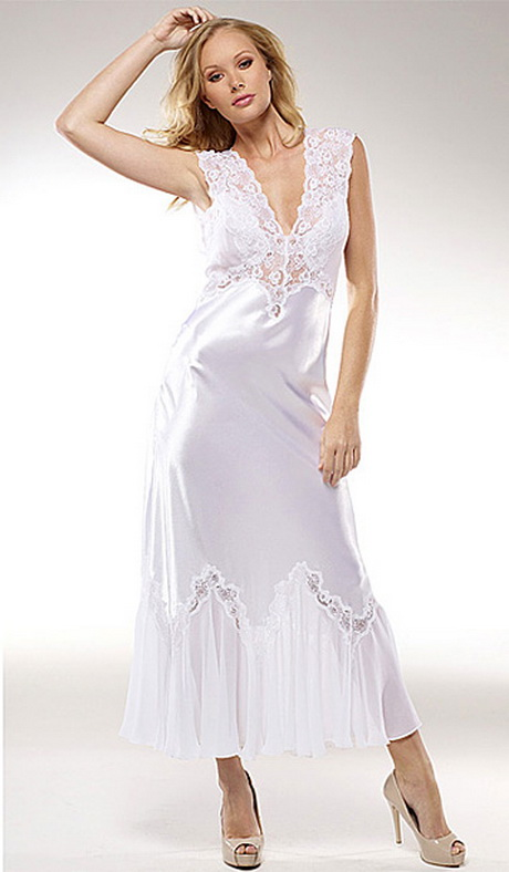 wedding night gowns On night dress for wedding night