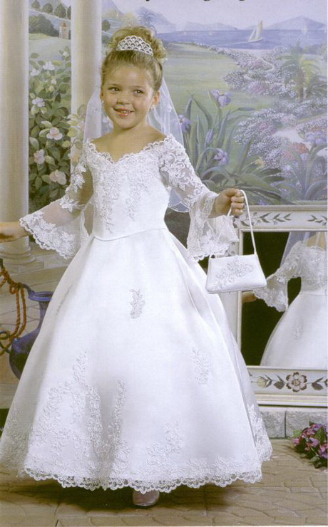Bridal Costumes For Girls Cute Kids Fancy Party Dress 2014 Collection