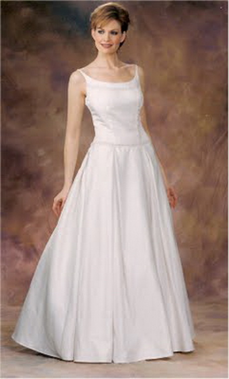 Wedding dresses for mature women for Woman in wedding dress
