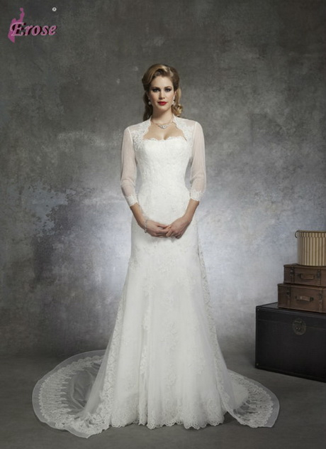 Wedding dresses for mature women for Old lady wedding dresses