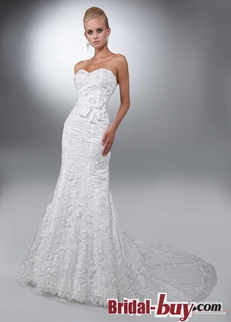 trumpet chapel train vintage lace wedding dresses under 200 wd20630