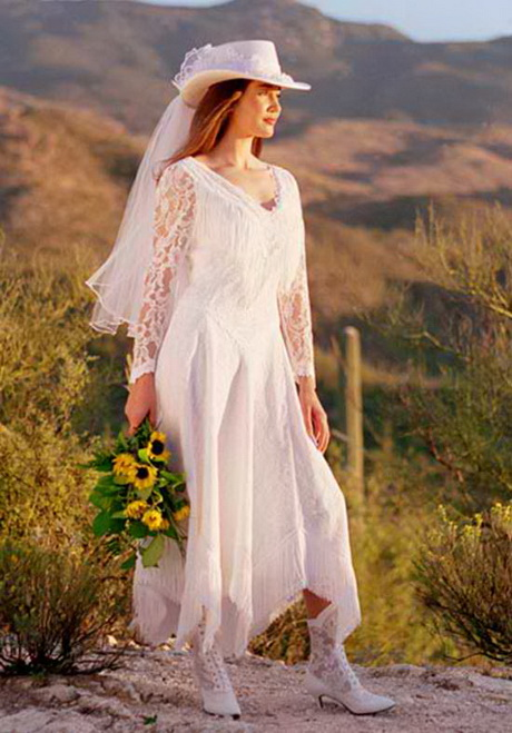 Western wedding dresses for women for Western wedding dresses with boots