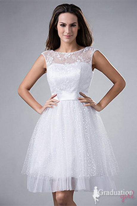 White Graduation Dresses For 8th Grade For your gradu