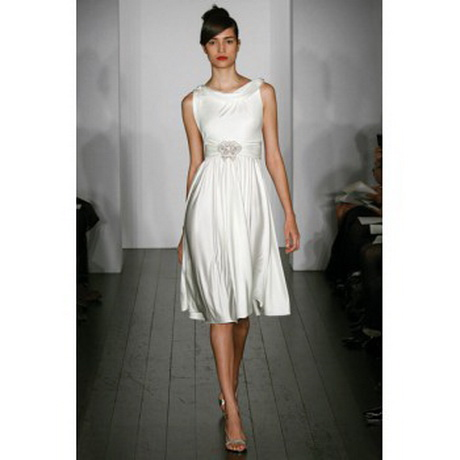 White casual dress for Short white summer wedding dresses