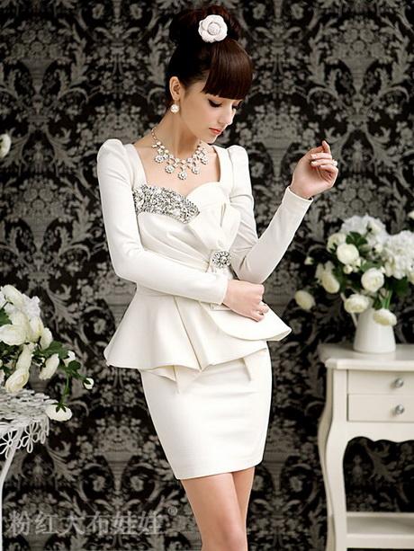Excellent Women Church Suits WHITE G4322  Tuxedo Jacket Skirt Suit  Not Just