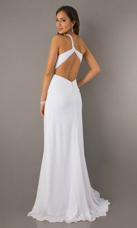 White dresses for juniors graduation