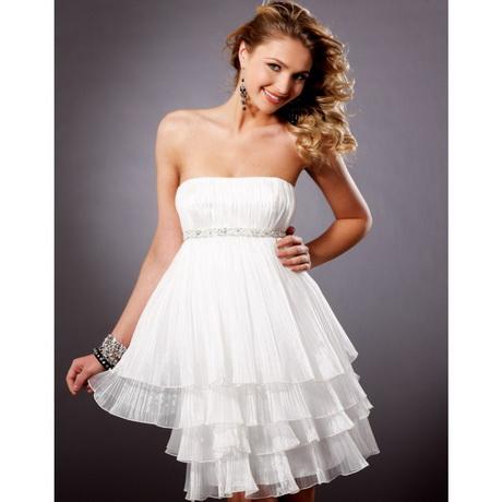 White dresses for juniors