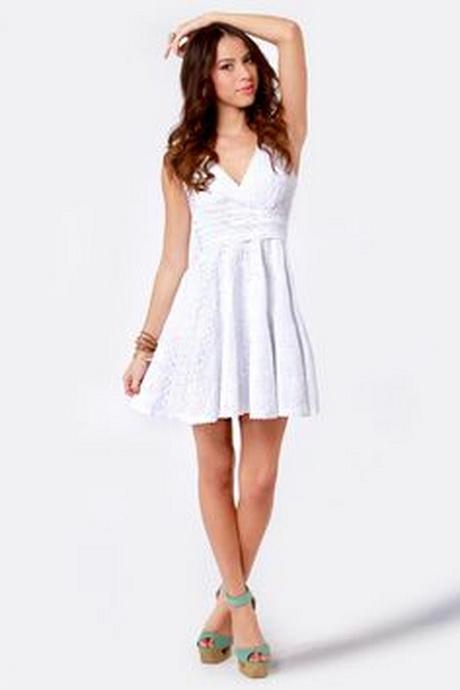 White dresses for teens