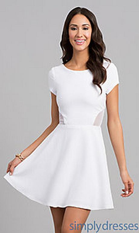 White dresses juniors