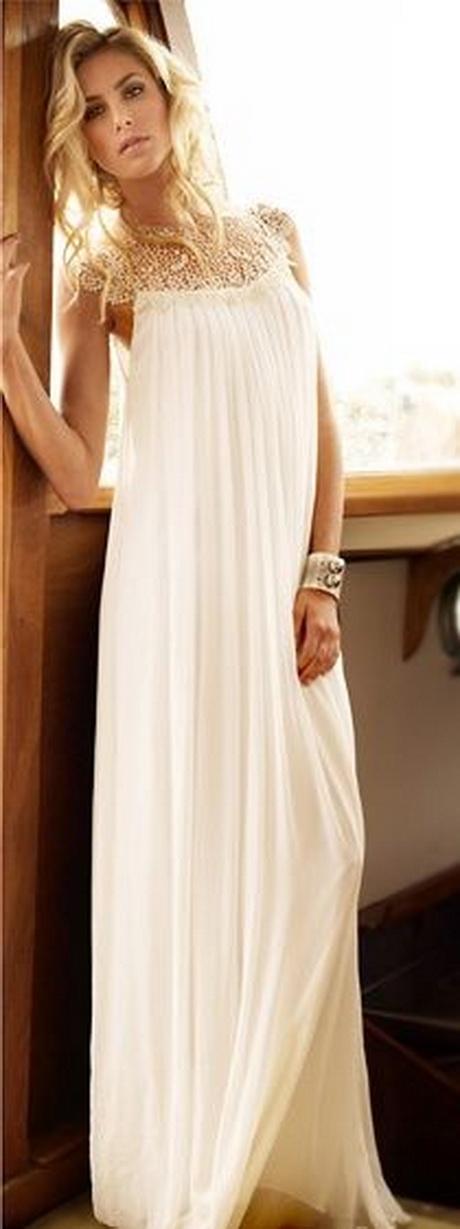 White flowy dress for White flowy wedding dress
