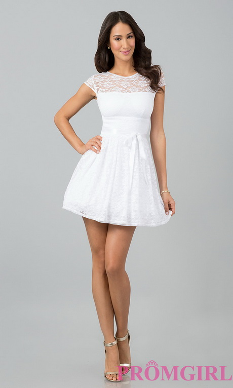 White Graduation Dresses Juniors 106