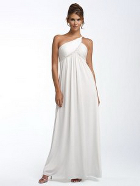 plus length dresses white