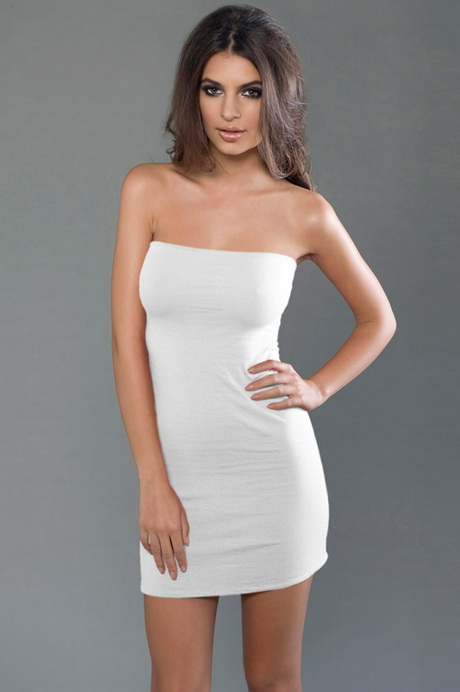 Silver Knee Length Dresses
