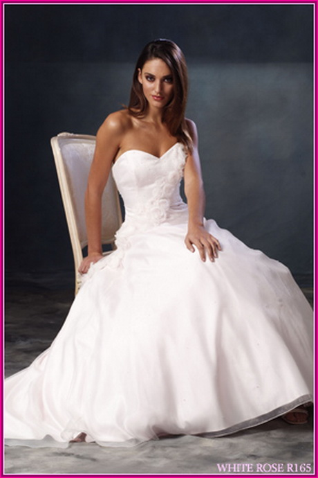 White wedding gowns for White wedding dress meaning