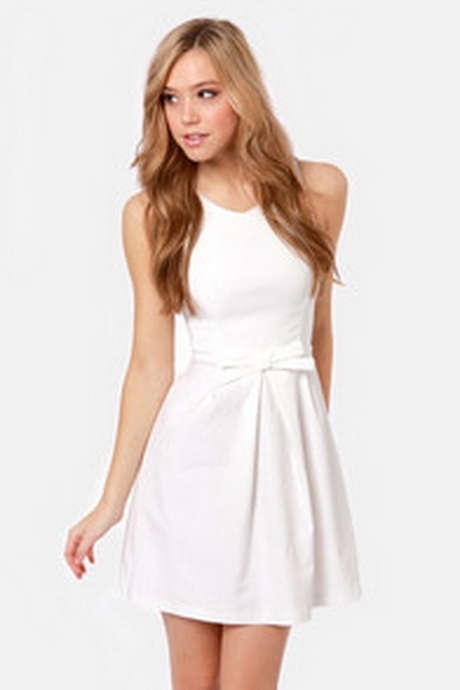 White Party Dresses For Juniors