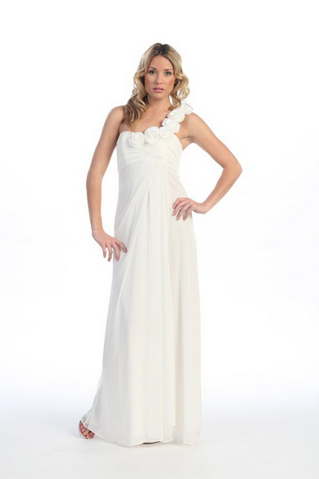 Long white prom dresses under 100 dollars plus size tops for Long wedding dresses under 100