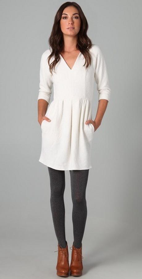 winter white dresses