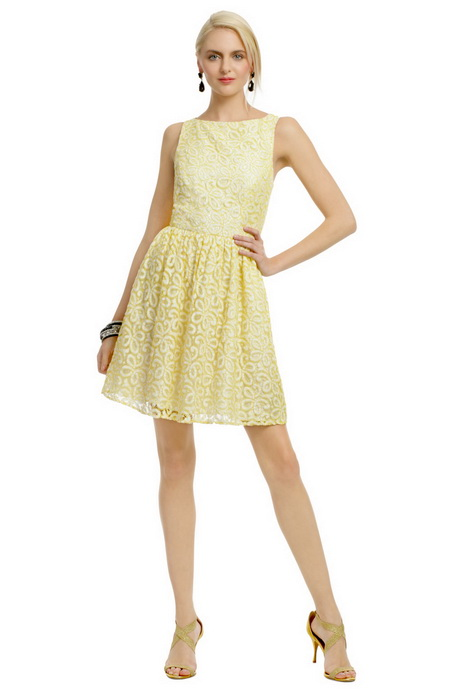 Yellow lace dress for Yellow wedding dresses for sale
