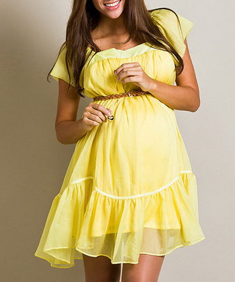 Yellow Maternity Dresses