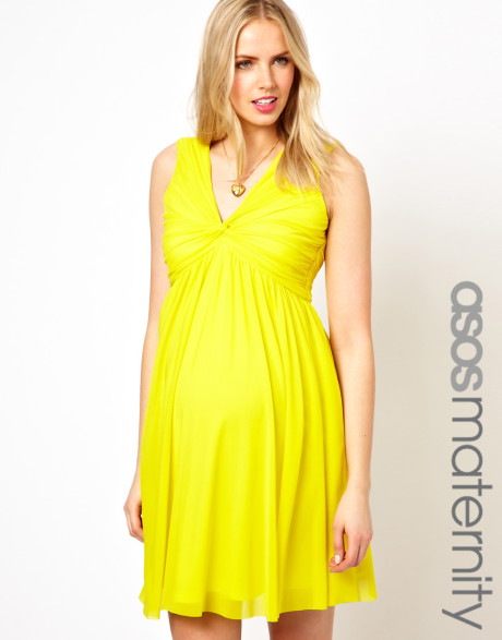 Yellow Plus Size Maternity Bridesmaid Dresses 86