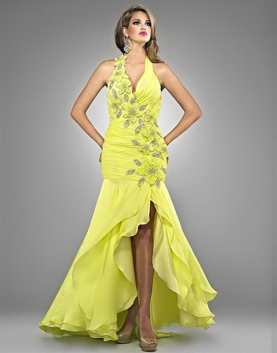 Used Yellow Prom Dresses 118