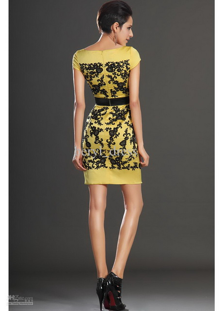 Yellow Cocktail Dresses Online 101