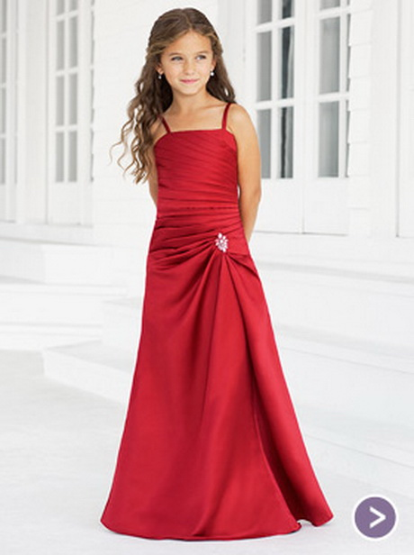 Young Bridesmaid Dresses 17