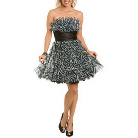Zebra Print Dresses For Homecoming 59